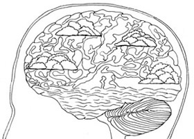 Brain Plasticity - NO Pain Visualisation Picture Drawing Template