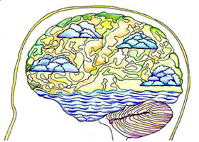 Brain Plasticity - NO Pain Visualisation Picture