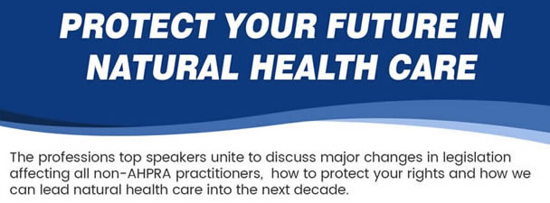 Protect Your Future in Natural Health Care