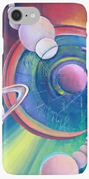 Planetary Alignment - Designer products - iPhone case