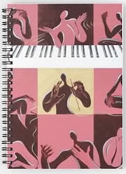 Music Therapy Spiral Notebooks