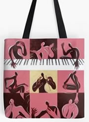 Music Therpay Tote Bags