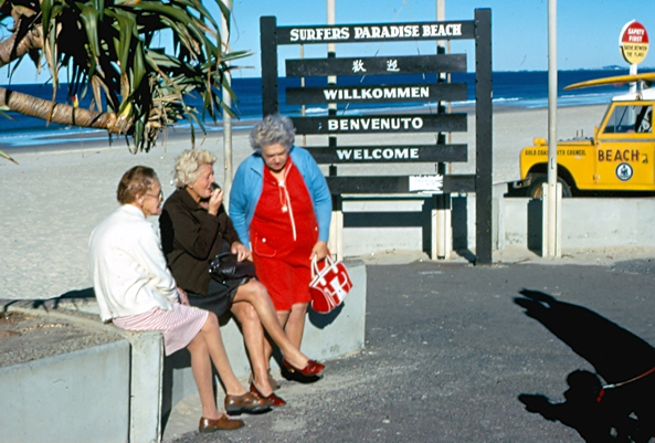 Surfer Paradise - Gold Coast - 1975