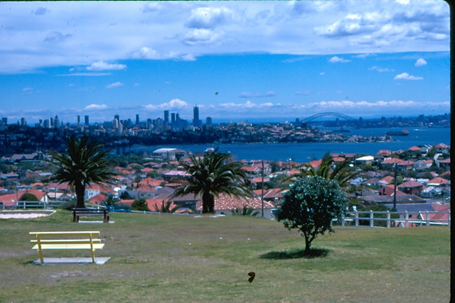 View over Sydney - 1974 - picture