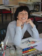 "Giselle Lüske, Artist & Designer of ""Organic Design Elements"""