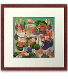 Framed Prints by Giselle - Artist