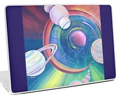 Laptop Skin Designs by Giselle - Artist