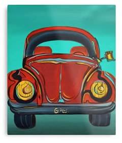 VW- Volkswagen - Wall Art Metal Prints